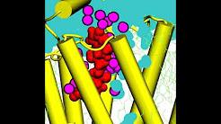 Beta blocker Nebivolol (srrr form) in the binding pocket of beta-2 receptor