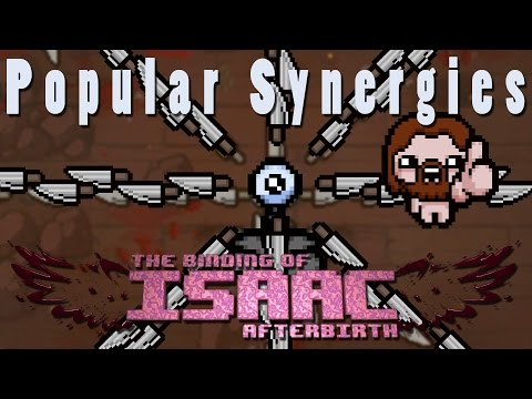 The Binding of Isaac Afterbirth Plus | Knife Sprinkler! | Popular Synergies!