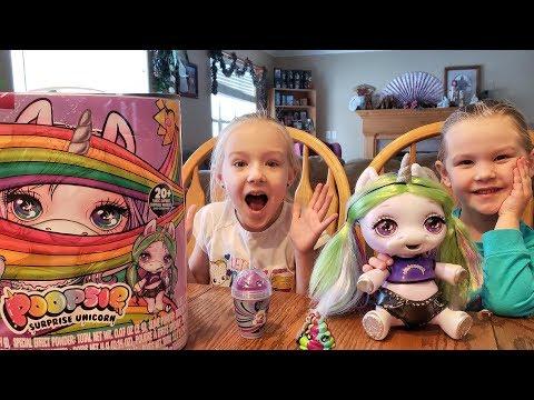Opening Poopsie Surprise Unicorn Slime!