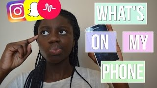 What's On My Phone (Android)  | Samsung Galaxy J3 | Just B