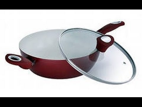 Керамическая сковорода-сотейник Bergner BG-6621