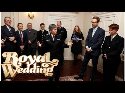 Royal Wedding | In Pictures: Princes hail 'inspiring' police officers at royal reception