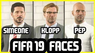 12 AMAZING NEW Manager Faces Added To FIFA 19 - FIFA 19 Career Mode