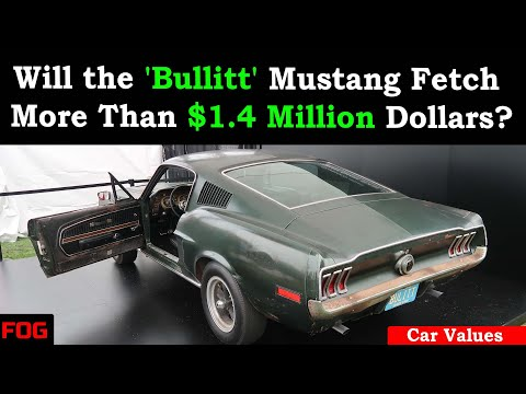 Will the 'Bullitt' Mustang Fetch More Than $1.4 Million Dollars?