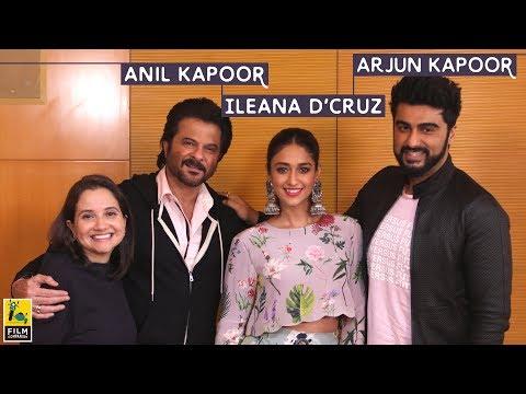 Anil Kapoor, Arjun Kapoor & Ileana D'cruz interview with Anupama Chopra | Mubarakan