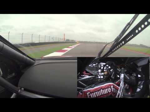 Circuit Of The Americas Ride Swap Kurt Busch Drives the V8 Supercar