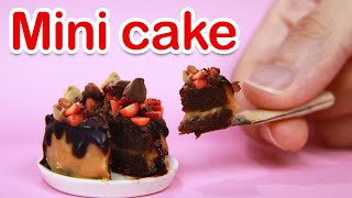 How To Make Mini Chocolate Cake - Miniature Kitchen