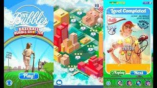 Baseball Bubble Shooter - Hit A Homerun | Бейсбол Пузырь Шутер | Android Gameplay