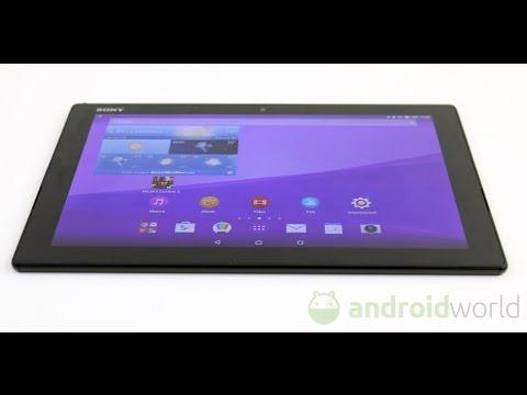 Sony Xperia Z4 Tablet, recensione in italiano