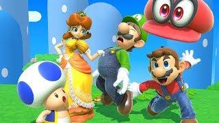 Super Mario 8-Player Battle - Super Smash Bros. Ultimate