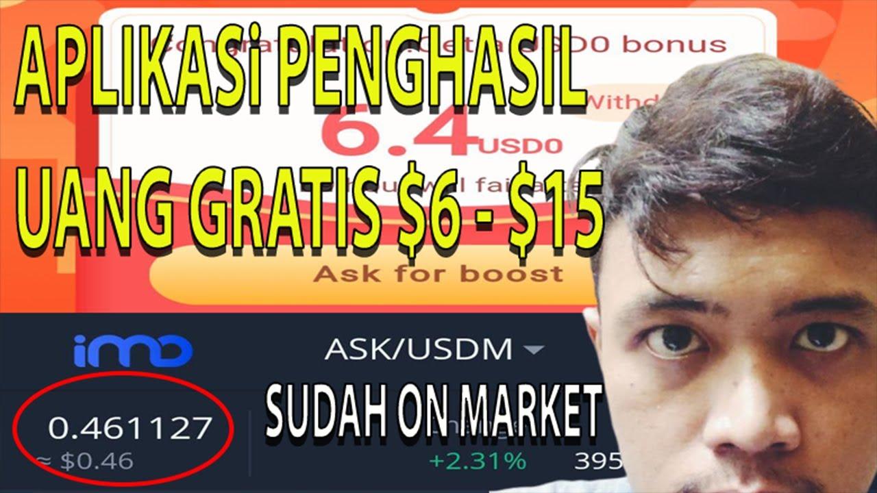 SIAP JADI DUIT GRATIS $6 HINGGA $15 - APLIKASI PENGHASIL UANG TERBARU 2020
