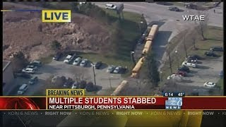 Multiple students reportedly stabbed