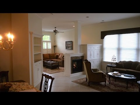 How to Build a Room Divider with a 2 Sided Fireplace. Part 3