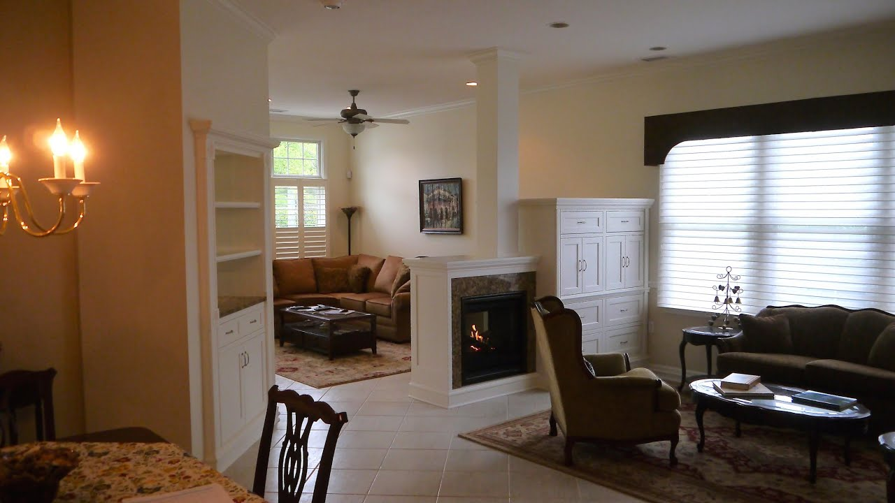How to Build a Room Divider with a 2 Sided Fireplace. Part ...