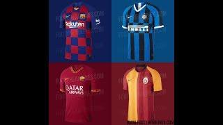 65ae1da0592 Nike 19-20 Home Kits Leaked  Barcelona