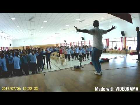 Chada dance(St Aloysuis College Students Mangaluru n Divine Springs Team Goa)