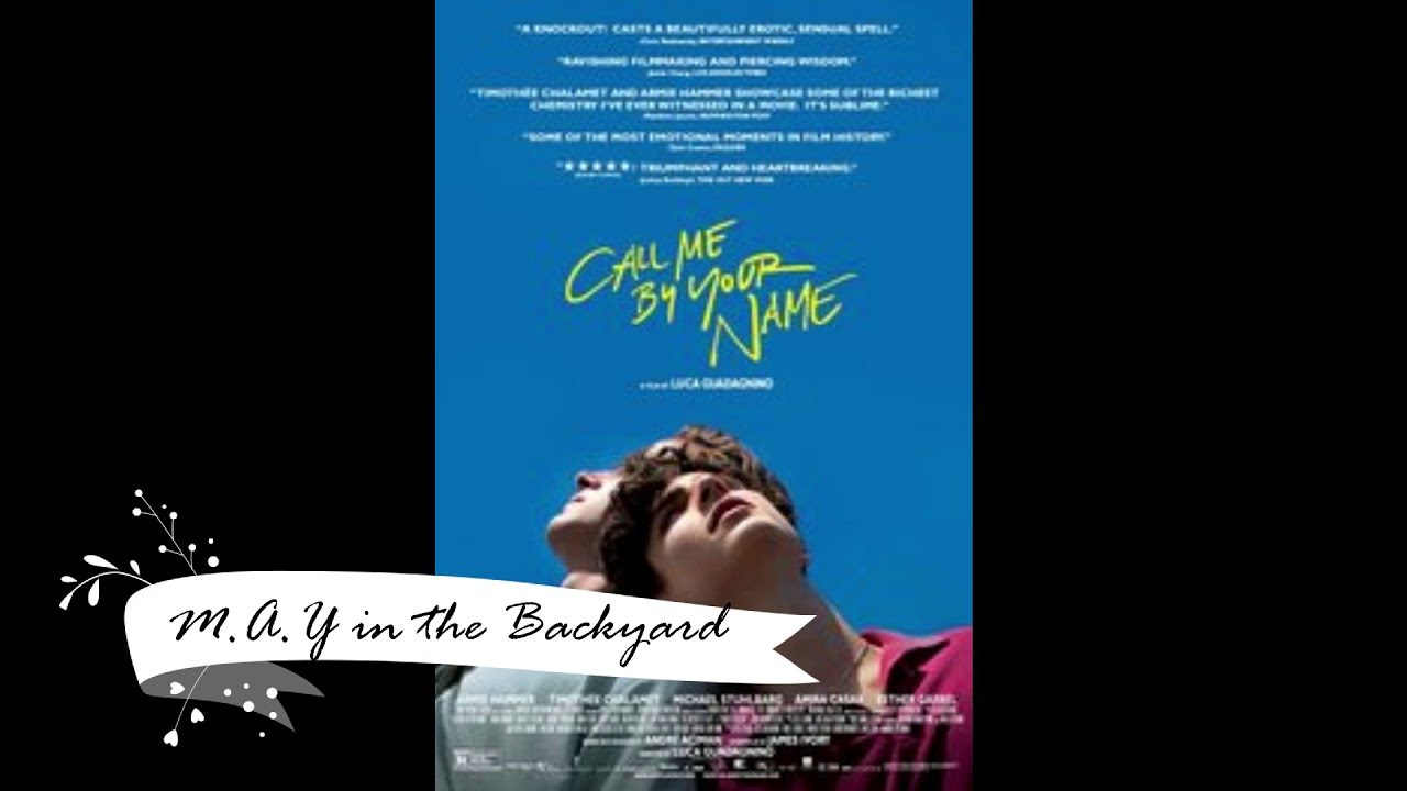 Call Me By Your Name Soundtrack