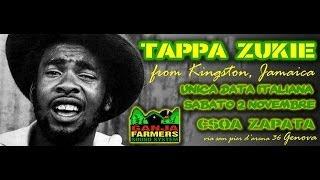 TAPPA ZUKIE live. openact by RasDanyI hosted by GANJA FARMER SOUND SYSTEM @ CSO ZAPATA GE 2 11 13