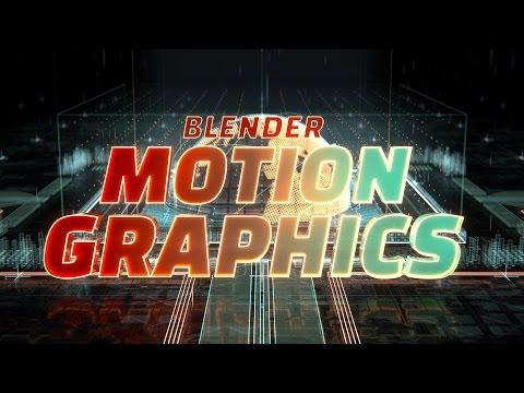 Blender Motion Graphics