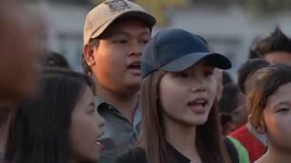 FlashMob NUAC Orchestra @ Mahar Bandula Park, Yangon