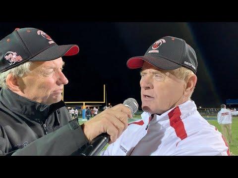 Coach Pedersen post-game (vs. Bellevue, 2018)