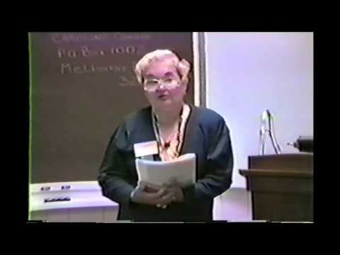 Radionics Lecture Part 6 of 6 - Caroline Connor