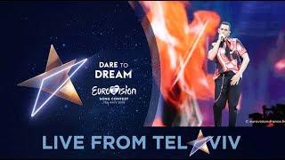 Mahmood - Italy - 2nd Rehearsal - Eurovision 2019 - Soldi (FULL Rehearsal, HD)
