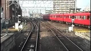 名鉄7700系 前面展望(須ヶ口→(犬山経由)岐阜)