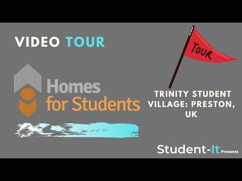 Trinity Student Village - Student Accommodation in Preston: Accommodation Tour