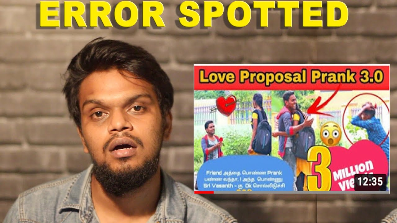 Fake pranks | Error Spotted | Arunodhayan