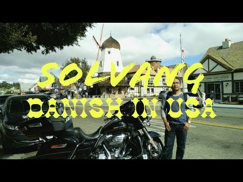 Unique Place to Visit...City Tour of Solvang Danish Village California | Free Taste for Best Wine