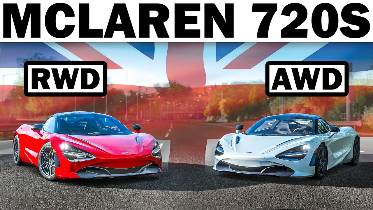 Forza Horizon 4 | What If The McLaren 720S Was All-Wheel Drive? | Forza Science!
