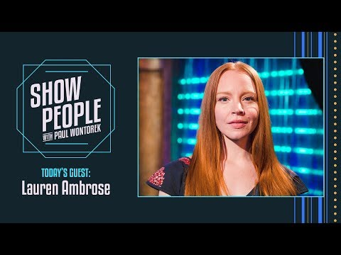 People with Paul Wontorek: Lauren Ambrose of MY FAIR LADY