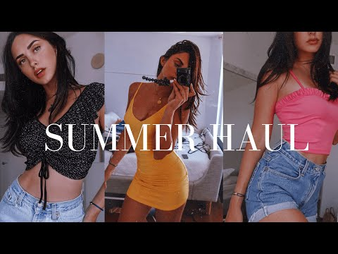 HUGE SUMMER TRY-ON HAUL    Joanna Marie