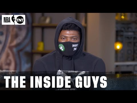 Boston's Marcus Smart Joins Inside After Being Named to the NBA All-Defensive 1st Team | NBA on TNT