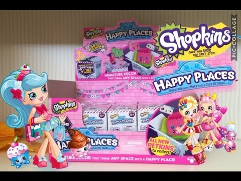 Shopkins Happy Places 2 Pack Season 2 Blind Bags UnBoxing
