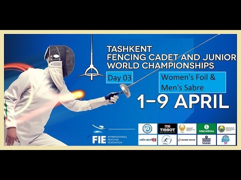 Cadets Fencing World Championships 2015 day03 - daily session