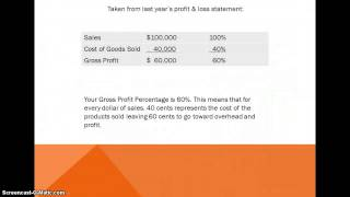 Using Gross Profit Percentage