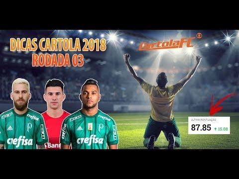 DICAS CARTOLA FC | RODADA 03 | TIME PRA TIRAR NO MÍNIMO 100 PONTOS