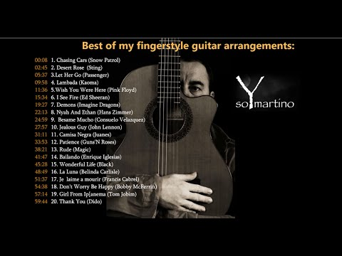 THE BEST OF MY FINGERSTYLE GUITAR ARRANGEMENTS - Volume 1