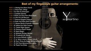 THE BEST OF MY FINGERSTYLE GUITAR ARRANGEMENTS - Volume 1