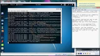 Easiest way to get OWASP WebGoat to run in Kali Linux