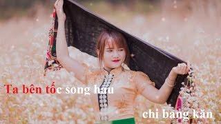 """[KARAOKE] Nặm Ta Păn Song """"Nước Mắt Chia Đôi"""" - Khánh Bii - Karaoke By Đức Diện"""