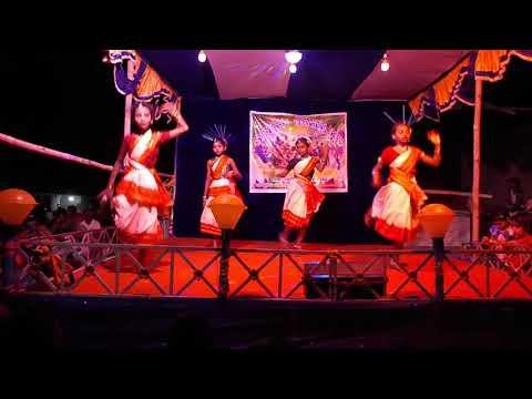 Hai Go Jasoda Rani dance performance at Mahadeijoda  Raja Parba