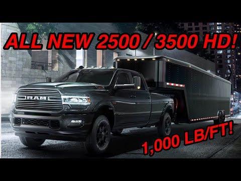 ALL NEW 2019 RAM 2500 HEAVY DUTY LARAMIE! *FIRST LOOK*