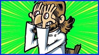 Buona Pasqua da Dio - Auguri divertenti - Vignette in movimento - Barzellette divertenti
