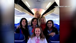 Southwest Airlines' all-female flight crew