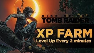 Shadow of the Tomb Raider XP FARM | Farming Experience In Tomb Raider 2018
