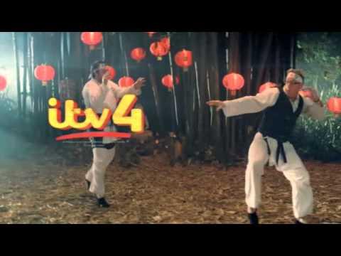 ITV4 Ident 2013 - Kung-Fu