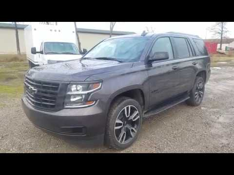 2018 Chevrolet Tahoe Lt Rst Tungsten Metallic Full Review Youtube